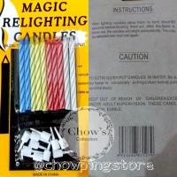 MAGIC RELIGHTING CANDLE / LILIN AJAIB / LILIN MAGIC