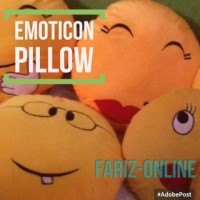 Jual Bantal Emoticon Murah