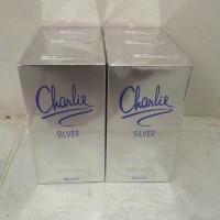 PARFUM ORIGINAL 100% CHARLIE SILVER REVLON box + segel murah