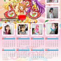 Kalender Foto Aikatsu