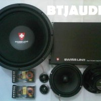 harga PAKET AUDIO MOBIL FOR SQ SWISS LINE Series by CUBIG AUDIO (100% BARU) Tokopedia.com