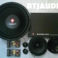 harga PAKET AUDIO MOBIL FOR SQ SWISS LINE Series by CUBIG AUDIO (100% BARU) Tokopedia.com