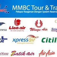 Distributor MMBC Tour & Travel (Tiket Pesawat - Voucher Hotel - PPOB)
