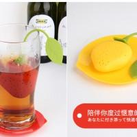 Saringan Teh Bentuk Buah Strawberry | Strawberry Fruit Tea Bag