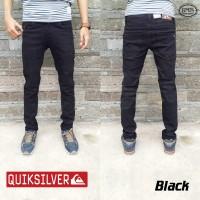 Quick Silver Jeans | Celana skinny | Slimfit | bioblitz | Hitam | blue