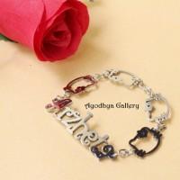 harga Gelang Nama Anak - Gelang Hello Kitty - Perhiasan Nama Custom Tokopedia.com