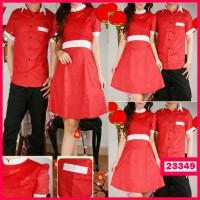 Dress Couple Imlek Red Sicia