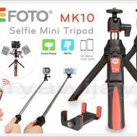 Monopod Benro MK10 Smart/ Tongsis/ Mini Tripod For HP, Camera & GoPRO