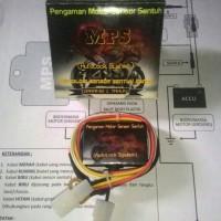 Pengaman Motor MPS / Anti Maling / Sensor Sentuh / Kunci Rahasia