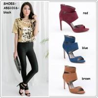 harga Sepatu Pesta Shoes Wedges Sandal High Heels Boots Korea Jepang Import Tokopedia.com