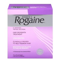 Rogaine foam penumbuh rambut wanita #1 USA - 1months supply