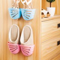 rak sepatu sendal tempel dinding - rack shoes wall