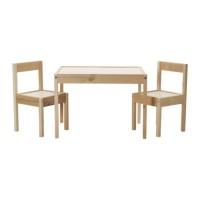 harga Ikea Latt Meja Anak Dengan 2 Kursi, Putih, Kayu Pinus Tokopedia.com