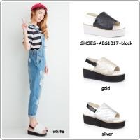harga Sepatu Shoes Wedges Sandal Platform Flats High Boots Korea Import Tokopedia.com