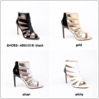 harga Sepatu Pesta Gladiator Wedges Sandal Flats High Heels Boots Import Tokopedia.com