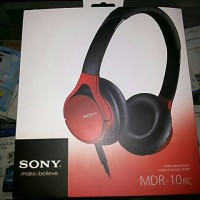 Headphone Sony MDR-10RC ( Headset Musik Dan Telephone )