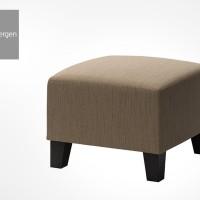 Kursi Meja Rias Kotak INGE Puff Vanity Chair Stool Kursi Pendek
