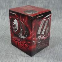 Raijintek Tisis - Top High-End CPU Cooler with Dual 14cm Slim Fan