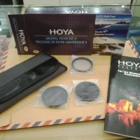 Filter HOYA Kit 49mm (Mc Uv, CPL, NDx8)