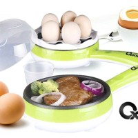 OX-181FE | Oxone 2 In 1 Frypan & Egg Steamer