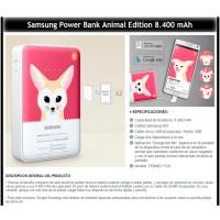 Samsung Powerbank Animal 8400mAh Fennec Fox Original - Merah