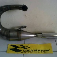 harga Knalpot Vespa Merk Champion Model Racing Kiri Tokopedia.com