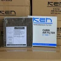 KEN Filter AC Honda Brio CBU. Tipe Premium Carbon Active