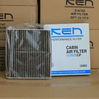 KEN Filter AC (Cabin Filter) Toyota Altis. Tipe Premium Carbon Active