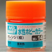 Mr. Aqueous Hobby Color H14 Orange