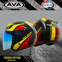 AVA Helmet JENSIS/CAPTAIN BLACK/RED