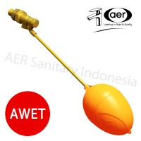 "AER Floating Valve 1/2"" / Pelampung Tandon Air "" / Bola"