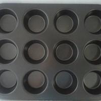 harga Loyang muffin & cupcake lobang 12 Tokopedia.com