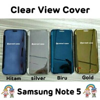 harga Clear View Cover Samsung Note 5 Flipcover Note 5 Clear View Tokopedia.com