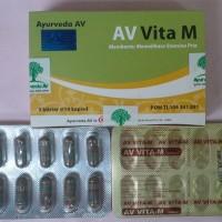 Jamu Ayurveda AV Vita M (Amsar India) Kesehatan Organ Reproduksi Pria