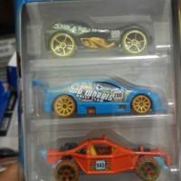 Jungle Rally 5-Pack Giftpack Hotwheels / Hot wheels
