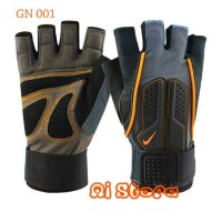 [Size M] Sarung Tangan Fitness Nike / Gym Glove Nike GN 001