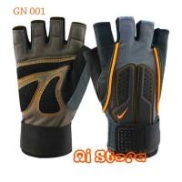 [Size L] Sarung Tangan Fitness Nike / Gym Glove Nike GN 001