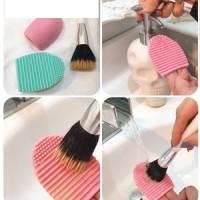 BRUSH EGG ( Busa pembersih kuas makeup ) thumbnail