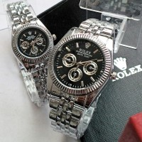 Jam tangan rolex putih / jtr 222