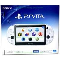 PS Vita New Slim Model - PCH-2000 (Glacier White) with 1 Year Warranty