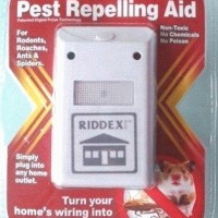 RIDDEX Plus Pest Repeller - Alat Pengusir Tikur Kecoa Nyamuk