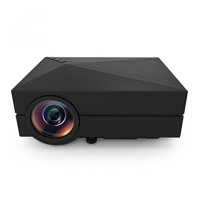 Mini LED Portable Projector GM60 1000 Lumens HDMI