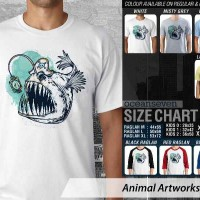harga Kaos Mancing - Animal Artworks 15 Tx - Unisex Tokopedia.com