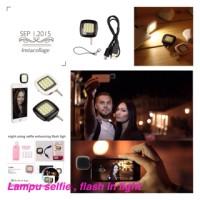 Jual Lampu Selfie Portable / FlashLight LED Camera HP / Lampu FlashExternal Murah