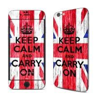 Garskin iPhone 6/6s - Keep Calm - Grunge - MODEL GAMBAR BISA REQ