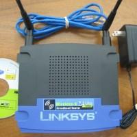 Free voucher KFC (40000) Linksys WRT54GL-AS : Wireless-G Router