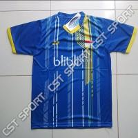 Kaos Badminton Biru Tenis Blibli Baju Olahraga Grosir Bulutangkis
