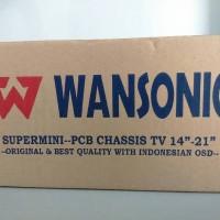 Mesin TV CRT WANSONIC STEREO 14-21
