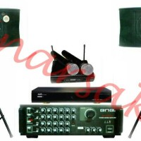 Paket Sound System BMB + DVD PLAYER KARAOKE GEISLER ( ORIGINAL )