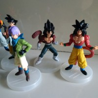 SET Goku Kai, Vegeta SS 4, Goku SS 4, Trunks Normal, Uub, Gogeto SS 4